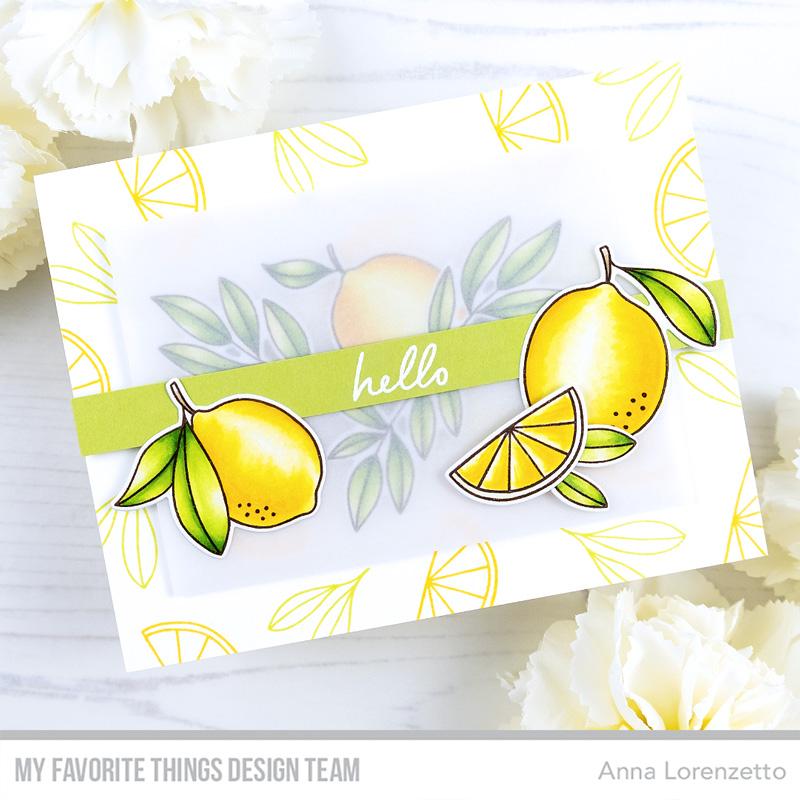 AL handmade - My Favorite Things - Main Squeeze stamp set and Die-namics