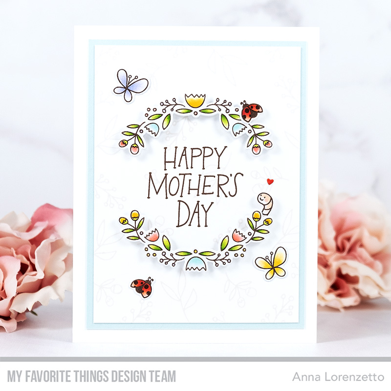 AL handmade - My Favorite Things - Mother's Day Bouquet stamp set and Die-namics