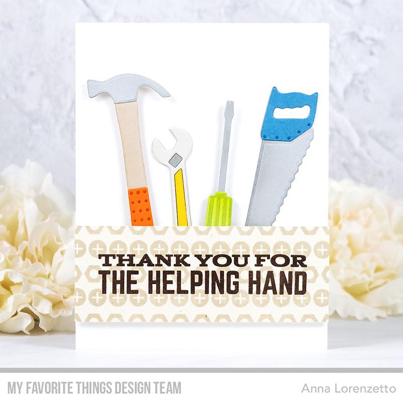 AL handmade - My Favorite Things - Tool Time Die-namics and Let's Tool Around