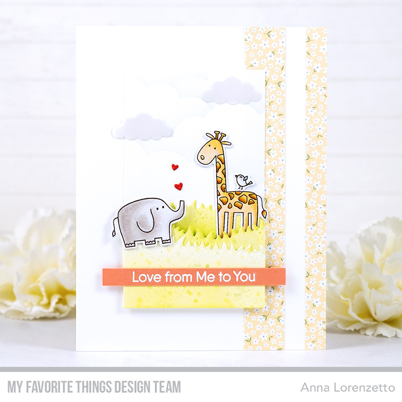 AL handmade - My Favorite Things DT - WSC 489 - Double the Fun stamp set and Die-namics