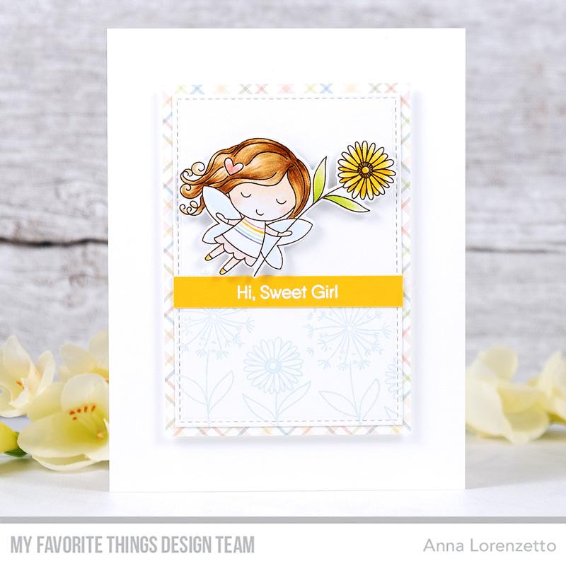 AL handmade - My Favorite Things - Flower Fairies stamp set and Die-namics