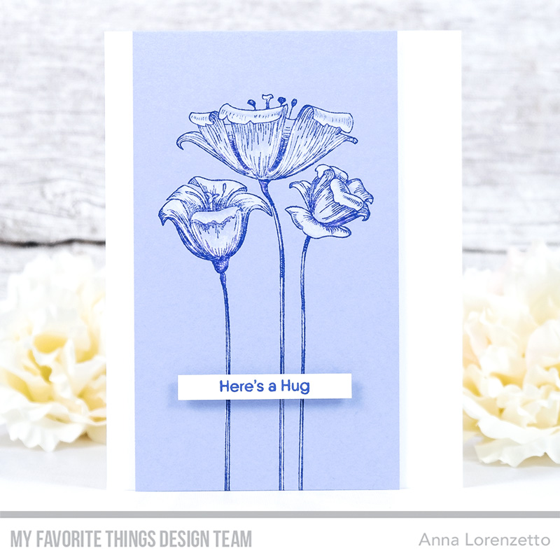 AL handmade - My Favorite Things - Fine-Lined Floral stamp set