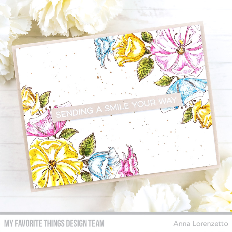 AL handmade - My Favorite Things - Corner Blooms stamp set