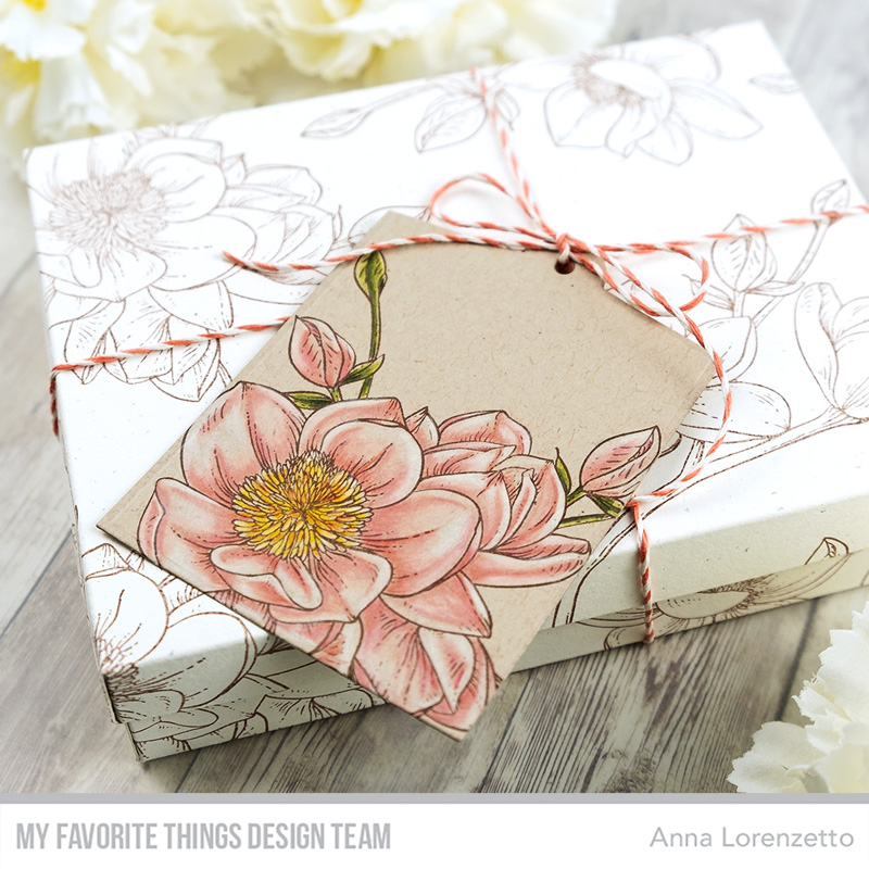 AL handmade - My Favorite Things - Magnolia Blossoms gift box