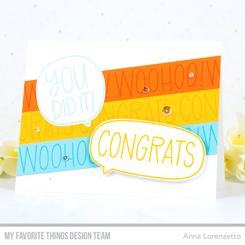 AL handmade - My Favorite Things - All the Encouragement stamp set and Die-namics