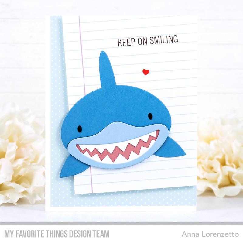 AL handmade - My Favorite Things - Baby Shark Die-namics and Sharky Sentiments stamp set
