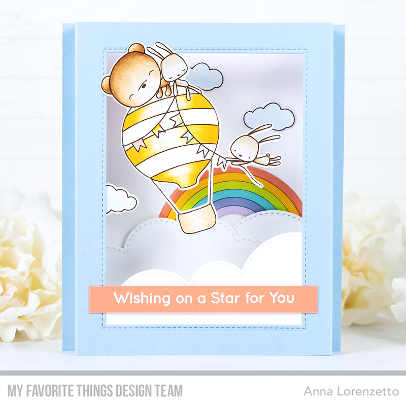 AL handmade - My Favorite Things - Sky-High Friends Card Kit - Sky-High Friends