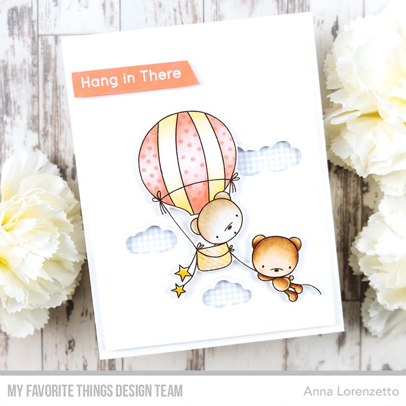 AL handmade - My Favorite Things - Sky-High Friends Card Kit - Best Adventure Bears