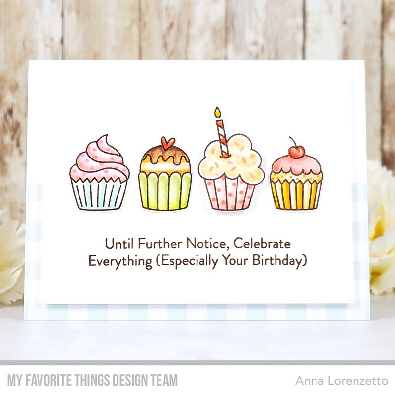 AL handmade - My Favorite Things - All the Cupcakes stamp set and Die-namics