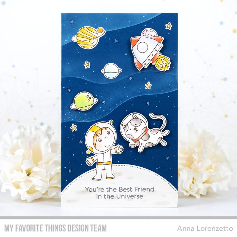 AL handmade - My Favorite Things - Best Friends in the Universe stamp set and Die-namics