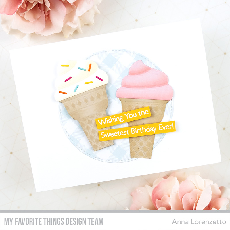 AL handmade - My Favorite Things - Ice Cream Cone Die-namics