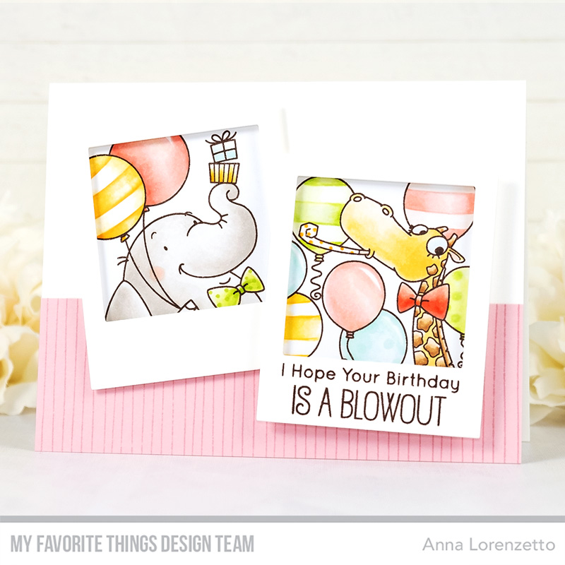AL handmade - My Favorite Things - BB Picture Perfect Party Animals