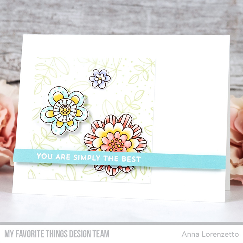 AL handmade - My Favorite Things - Fun Flowers stamp set and Die-namics