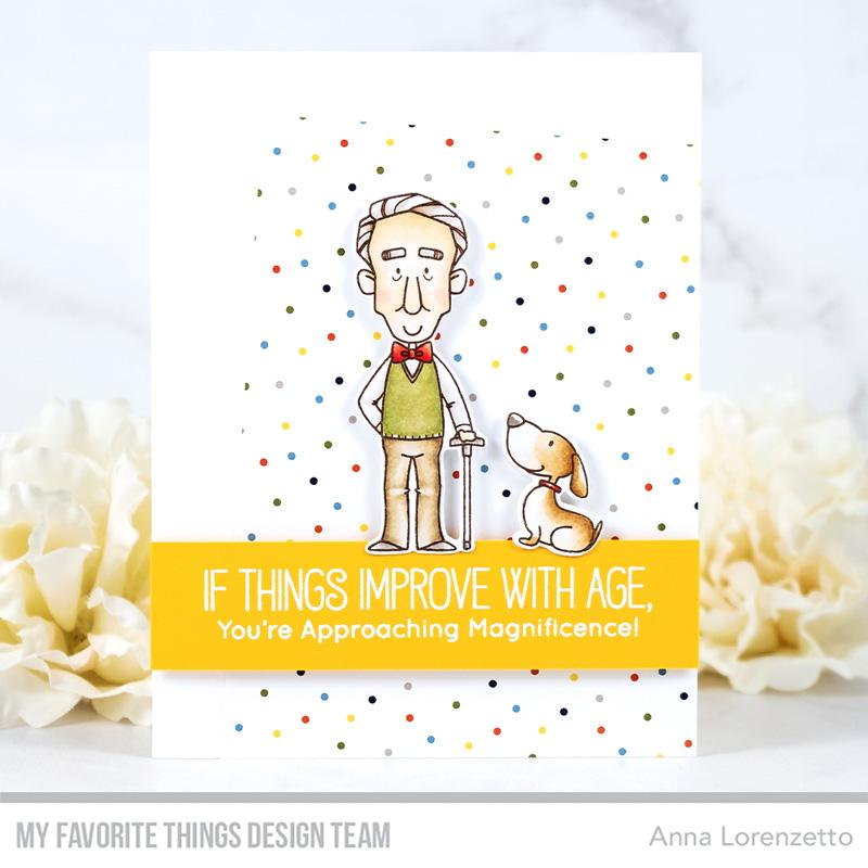 AL handmade - My Favorite Things - BB Old Friends stamp set and Die-namics