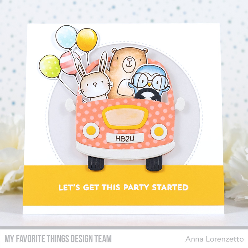 AL handmade - My Favorite Things - Better Together Card Kit - Better Together stamp set and Carpool Die-namics