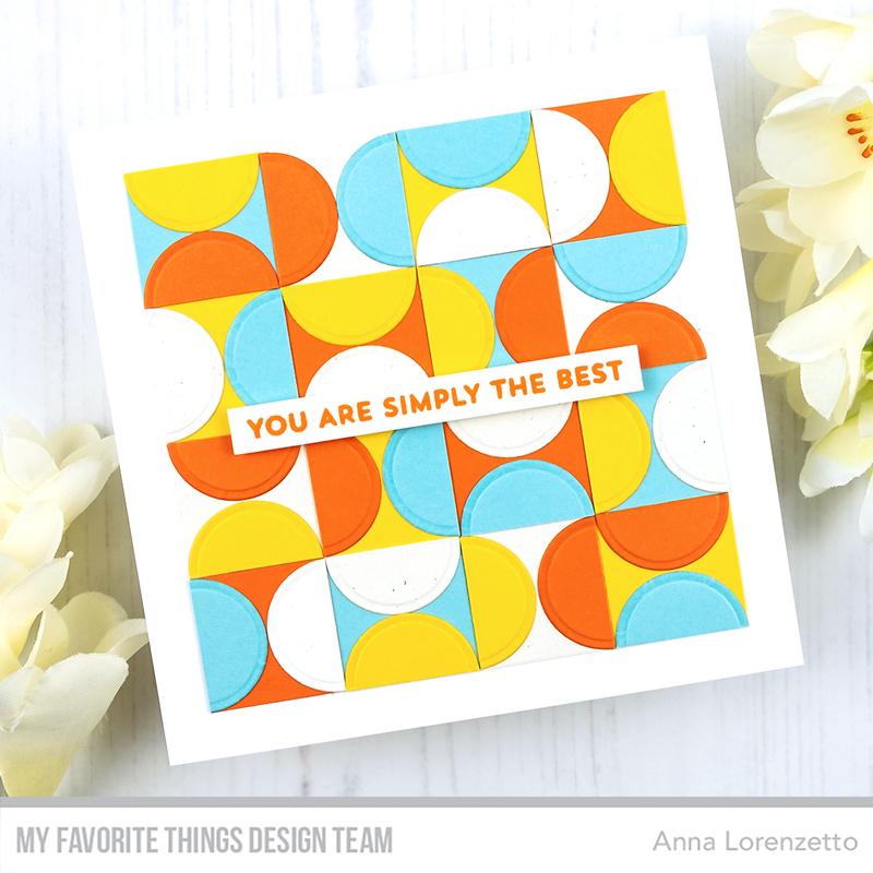 AL handmade - My Favorite Things - A2 Circle STAX Die-namics