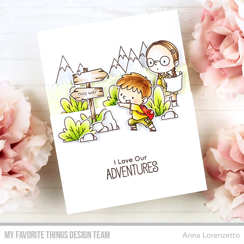 AL handmade - My Favorite Things - BB Adorable Adventures stamp set and Die-namics
