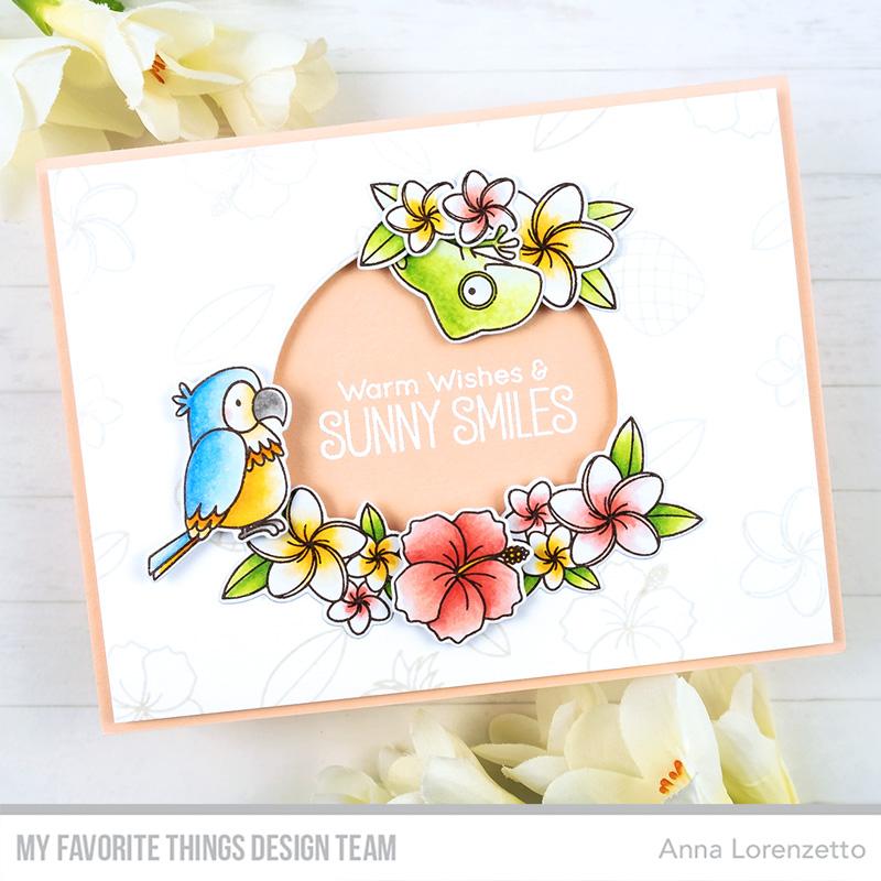 AL handmade - My Favorite Things - BB Polynesian Paradise stamp set and Die-nammics