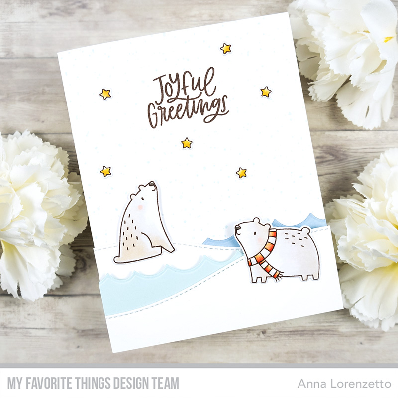 AL handmade - My Favorite Things - Polar Opposites stamp set and Die-namics