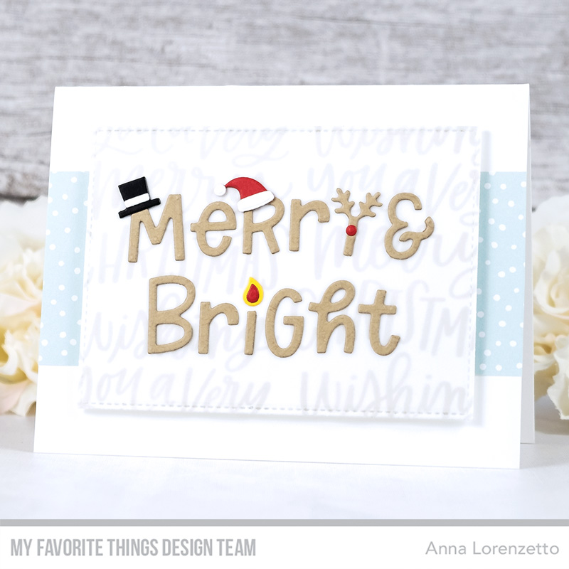 AL handmade - My Favorite Things - Merry and Bright with All the Trimmings Die-namics