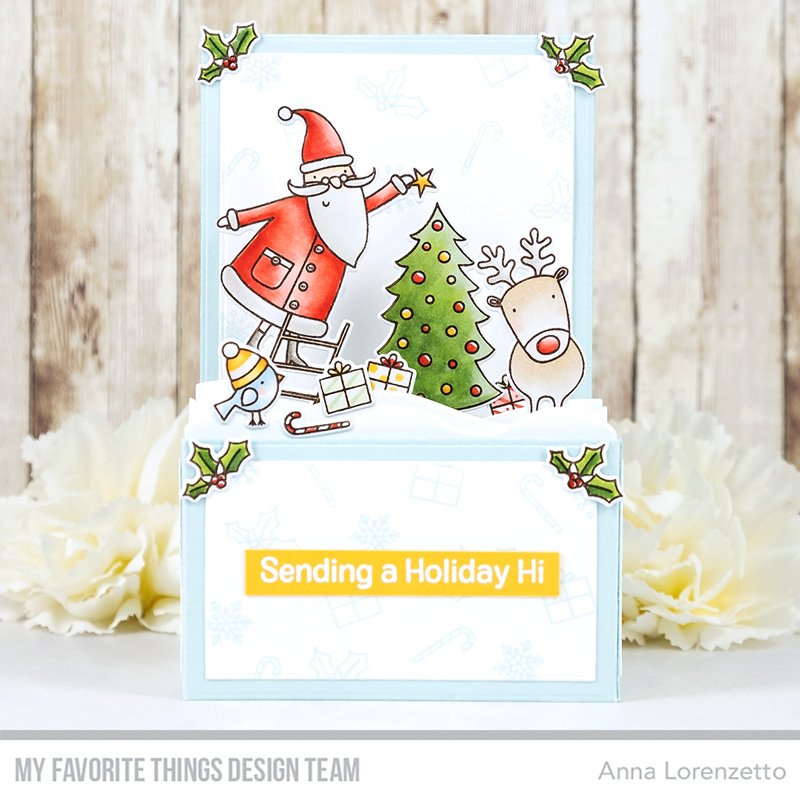 AL handmade - My Favorite Things - Joyous Holidays and Outside the Box Die-namics