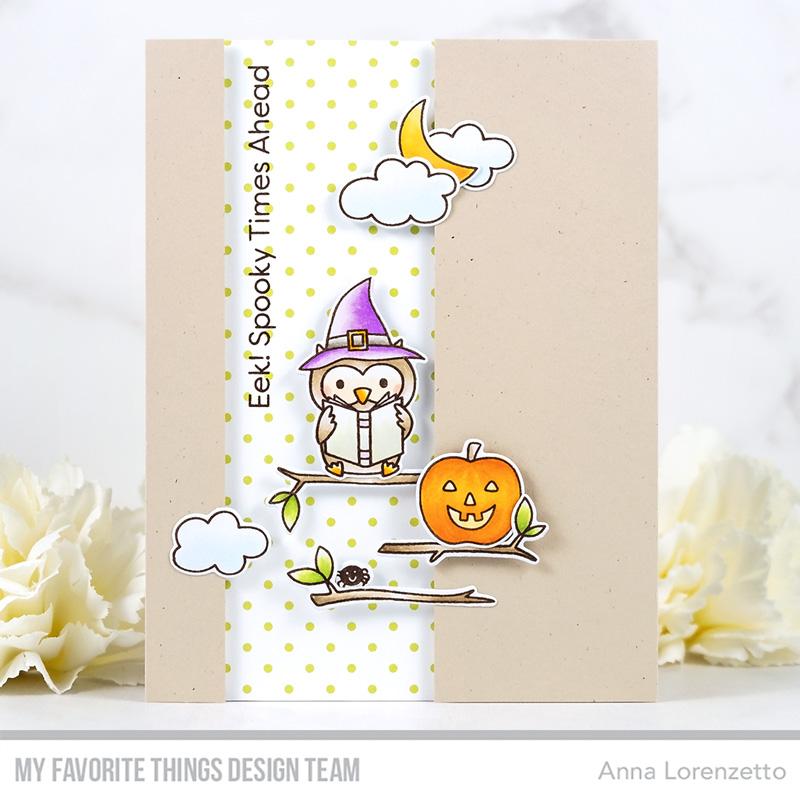 AL handmade - My Favorite Things DT - WSC 510 - Halloween Hoo stamp set and Die-namics
