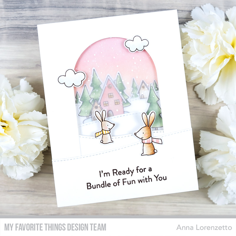 AL handmade - My Favorite Things - Fox & Friends Card Kit - Fox and Friends stamp set and My Neck of the Woods stamp set