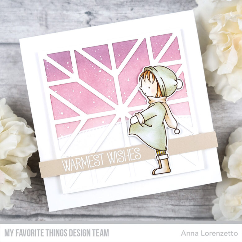 AL handmade - My Favorite Things - BB Warmest Wishes stamp set and Quilt Square Cover-Up Die-namics