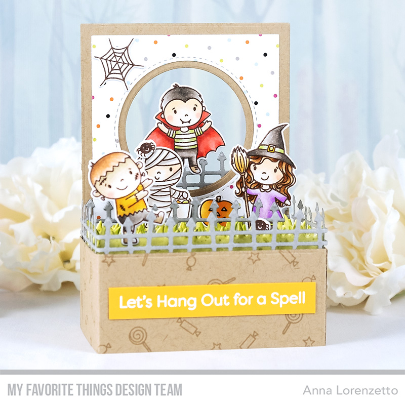 AL handmade - My Favorite Things DT - Outside the Box - Boo Crew stamp set and Outside the Box Die-namics