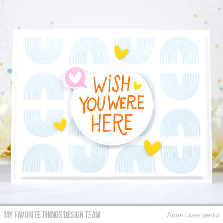 AL handmade - My Favorite Things - Miss Your Hugs Card Kit - I Miss Your Hugs stamp set and Die-namics