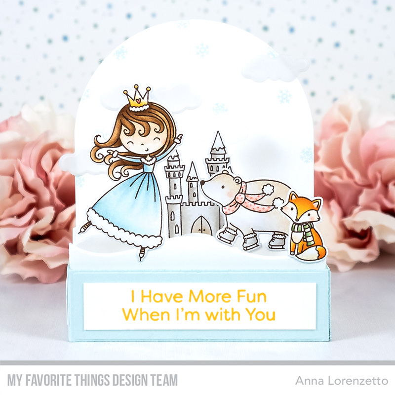AL handmade - My Favorite Things - Ice Princess and Friends stamp set and Outside the Box Low Profile Add-On Die-namics
