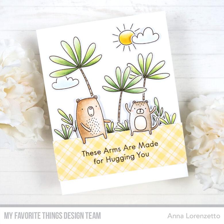 AL handmade - My Favorite Things - Sweet Safari stamp set and Die-namics