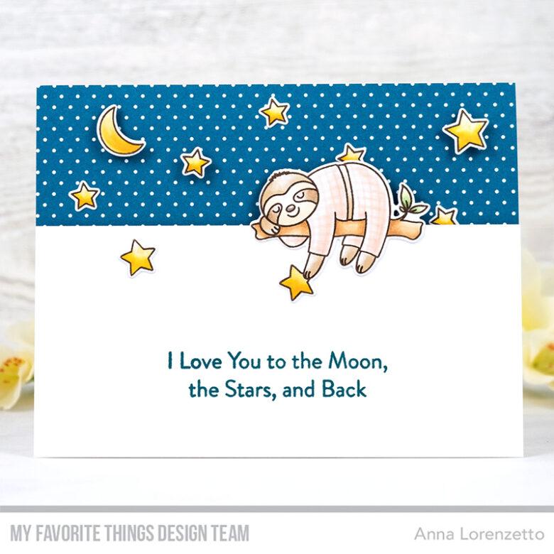 AL handmade - My Favorite Things - Slumbering Sloths stamp set and Die-namics