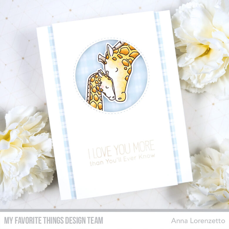 AL handmade - My Favorite Things - I'll Love You Forever stamp set