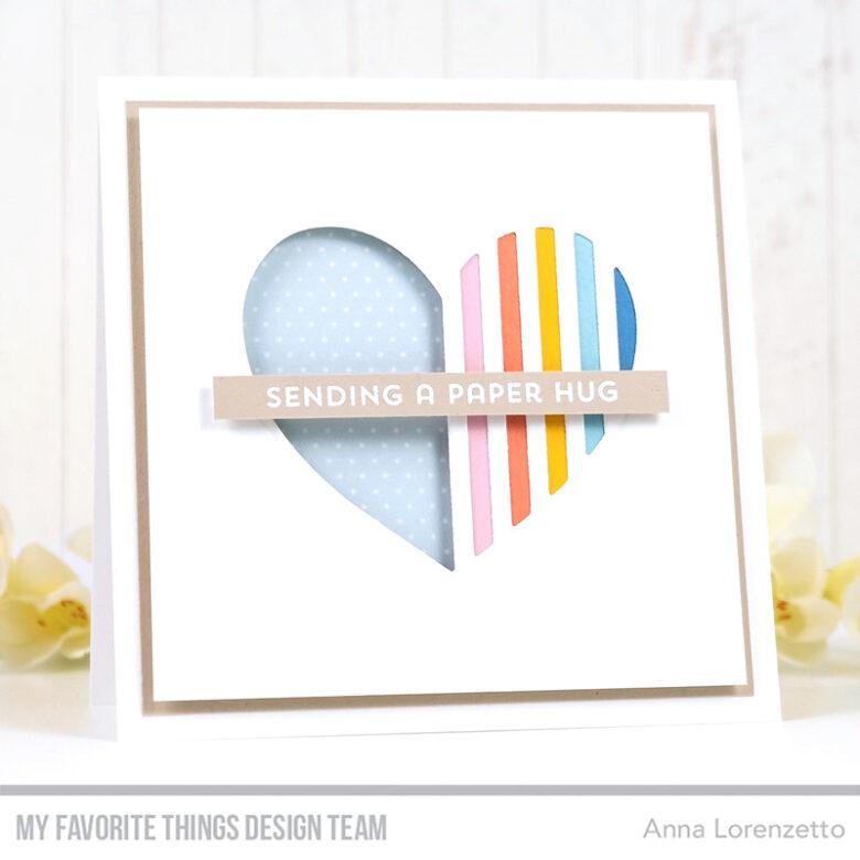 AL handmade - My Favorite Things - Love Lines Die-namics