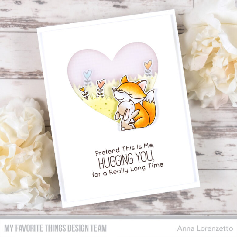 AL handmade - My Favorite Things - BB Hug It Out stamp set and Die-namics