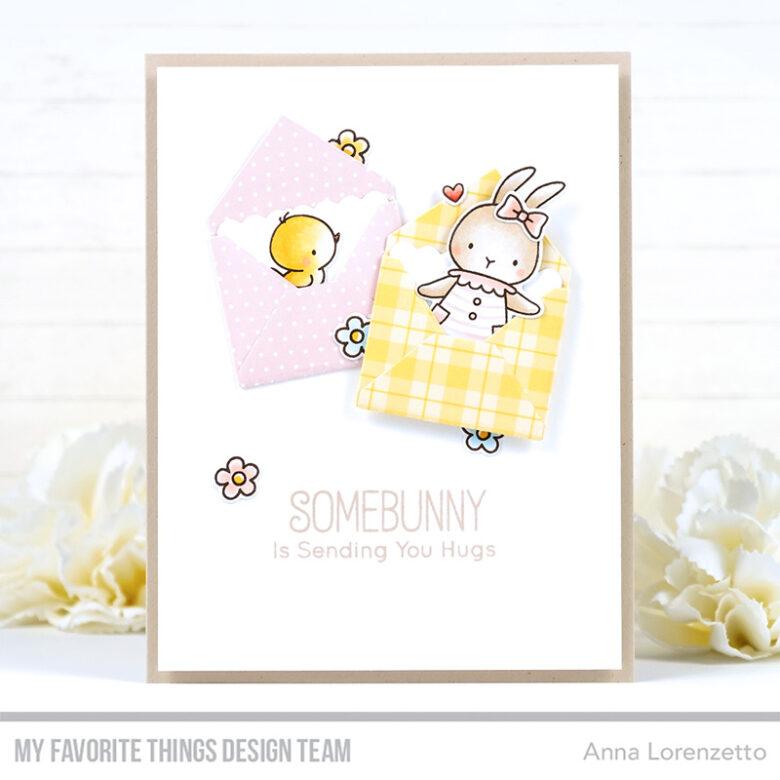 AL handmade - My Favorite Things - BB Somebunny stamp set and Mini Mail Die-namics