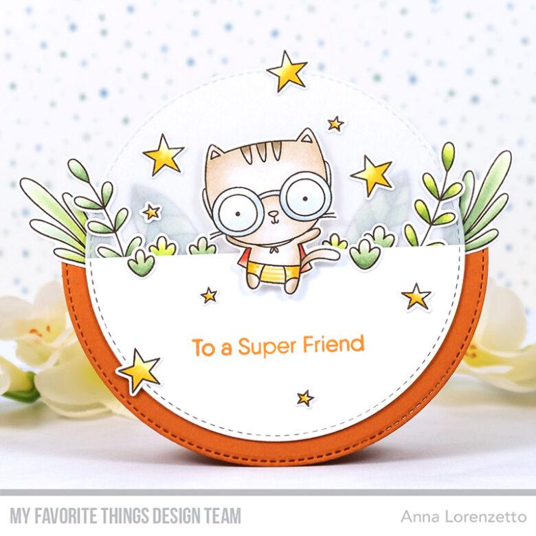 AL handmade - My Favorite Things - Super Friend stamp set and Die-namics
