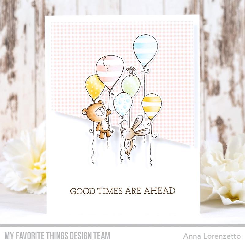 AL handmade - My Favorite Things - RAM Sweet Celebration stamp set and Die-namics