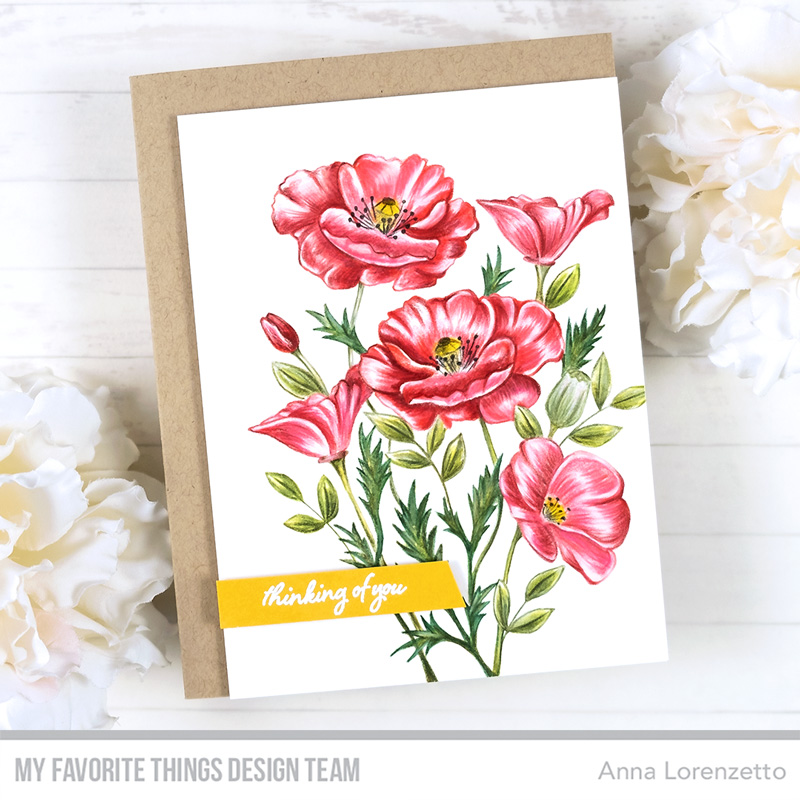 AL handmade - My Favorite Things - Wild Poppies stamp set