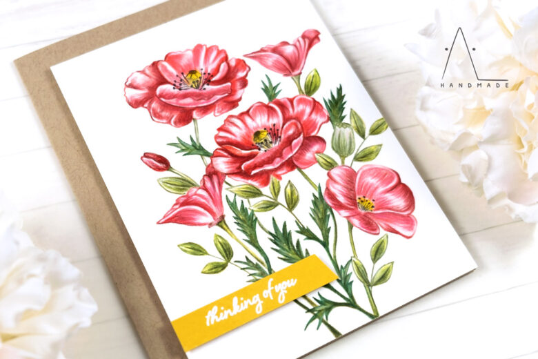 AL handmade - My Favorite Things - Wild Poppies stamp set