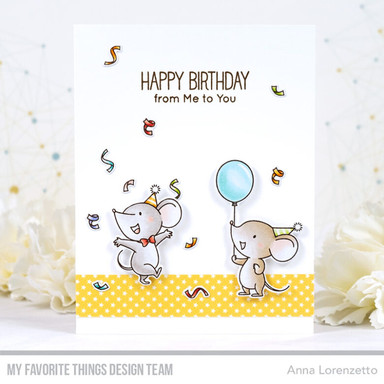 AL handmade - My Favorite Things - BB Mice Day to Celebrate stamp set and Die-namics