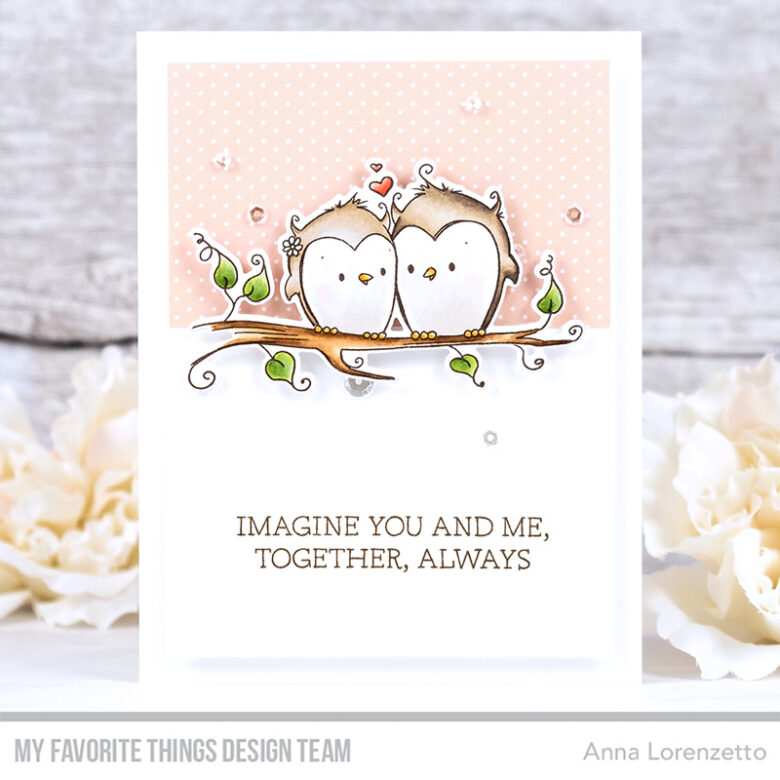 AL handmade - My Favorite Things - You and Me Together stamp set and Die-namics
