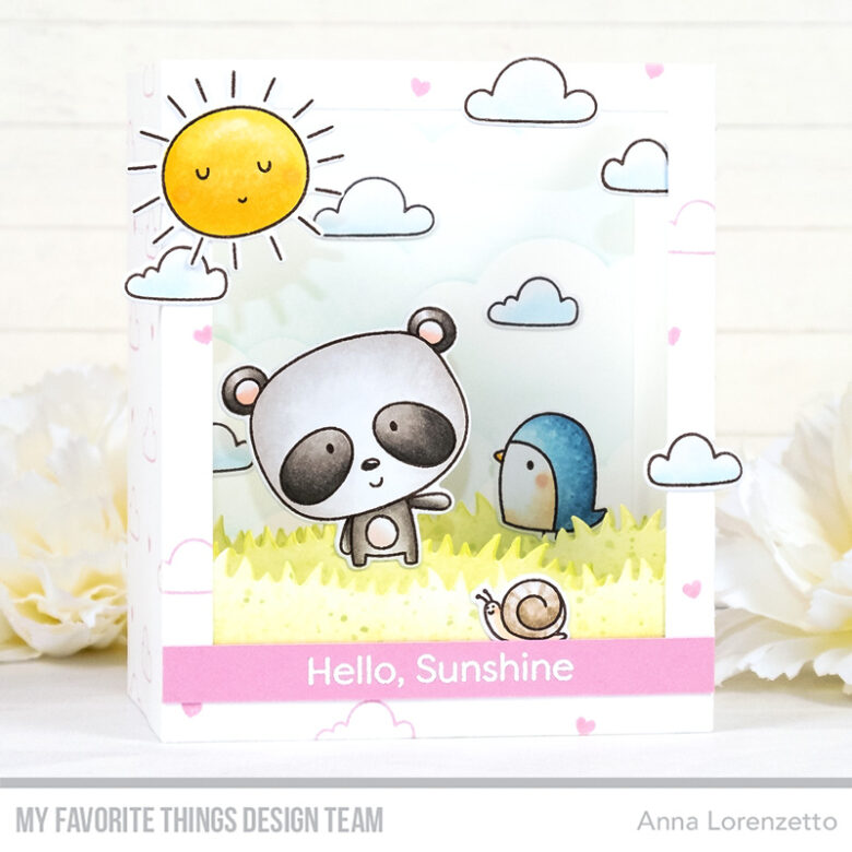 AL handmade - My Favorite Things - Weather with You Card Kit - Weather with You stamp set and Shadow Box Die-namics