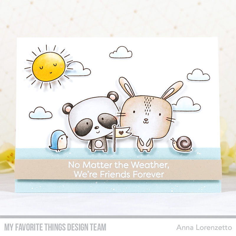 AL handmade - My Favorite Things - Weather with You Card Kit - Weather with You stamp set