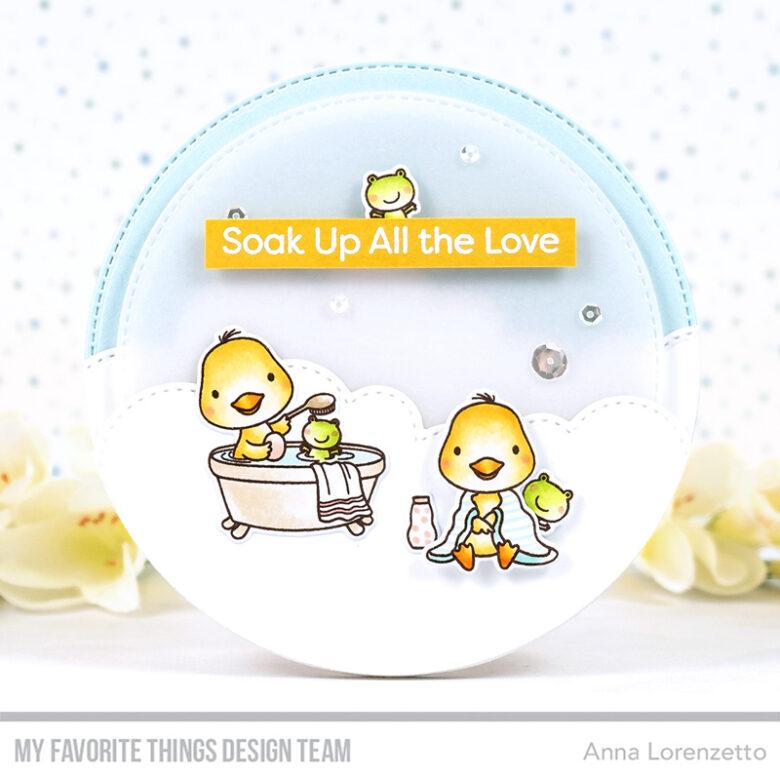 AL handmade - My Favorite Things - Lucky Duck stamp set and Die-namics