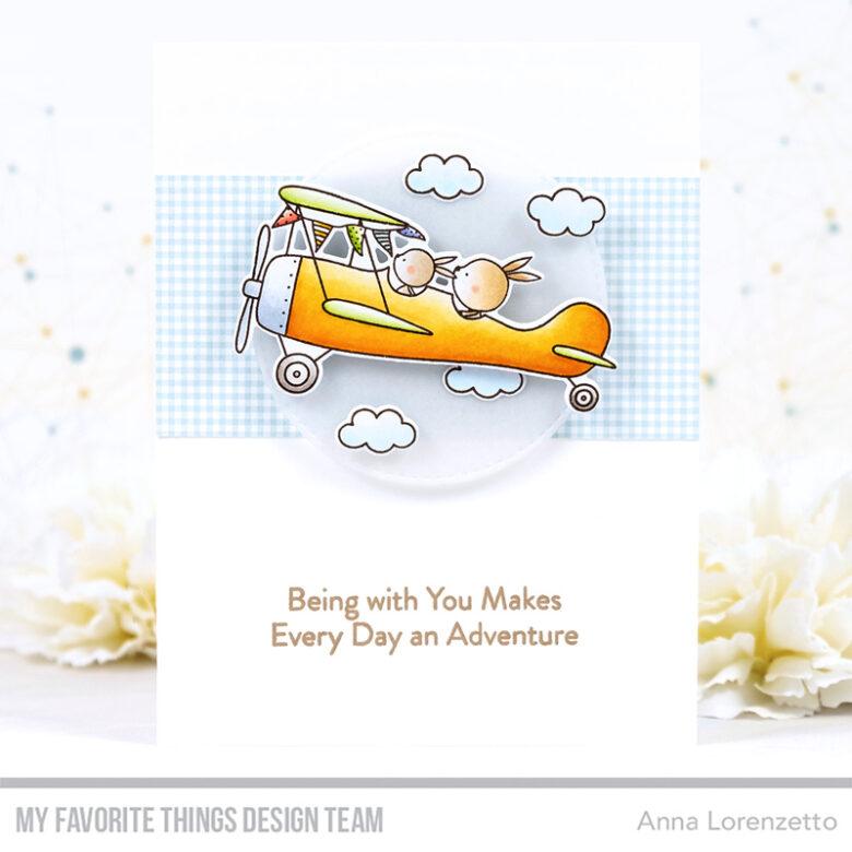 AL handmade - My Favorite Things - High-Flying Adventure stamp set and Die-namics
