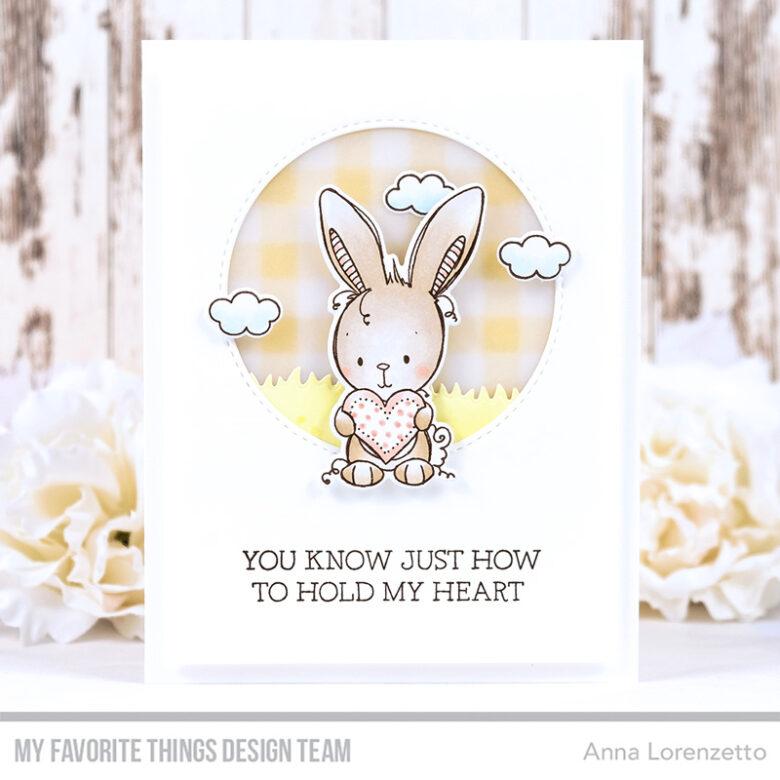 AL handmade - My Favorite Things - RAM Wish You Were Hare stamp set and Die-namics