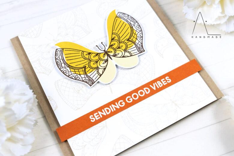 AL handmade - My Favorite Things - More Brilliant Butterflies stamp set and Die-namics