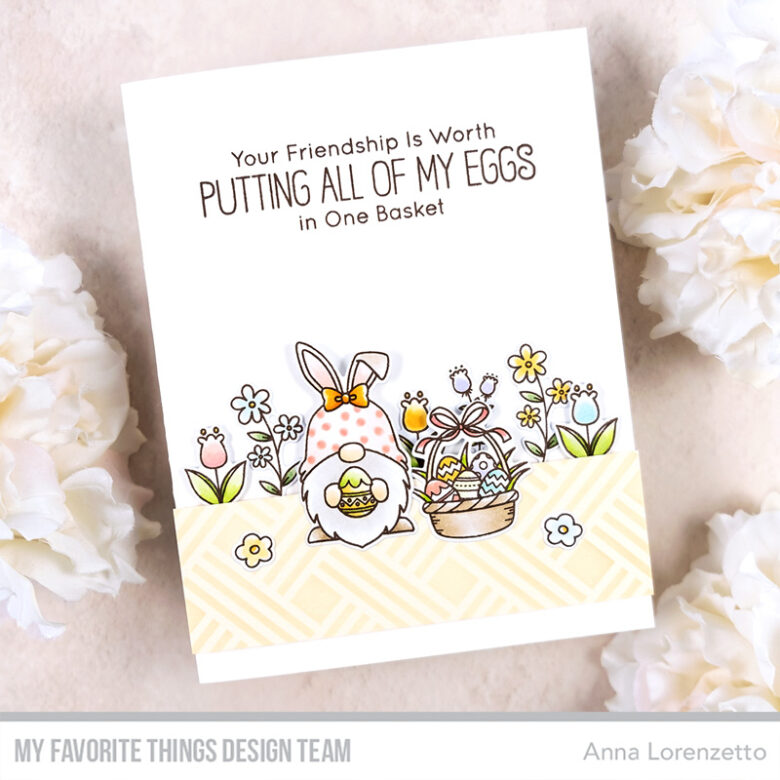 AL handmade - My Favorite Things - BB Spring Gnomes stamp set and Die-namics